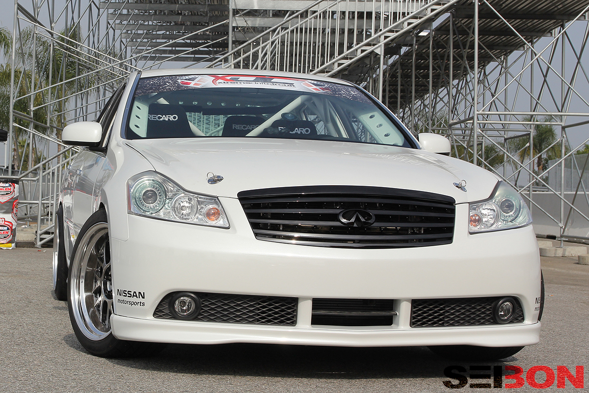 chris forsberg s four seater infiniti m45 takes on irwindale