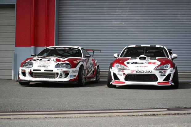 Photo credit: RS-R. Pictued: Competition RS-R Toyota Supra and GT86.