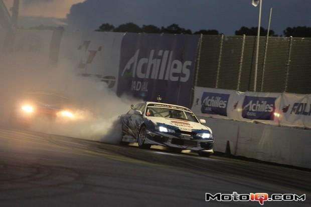 (Seibon driver Dave Briggs in his Nissan S14 at Round 3. Photo credit: MotoIQ.com)