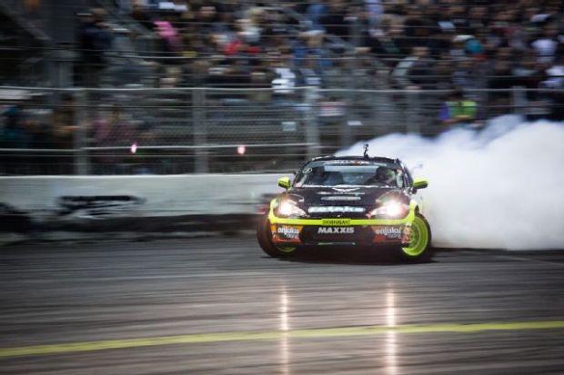 Ryan Tuerck runs a Seibon Carbon hood and trunk. Photo credit: Supert Street.com