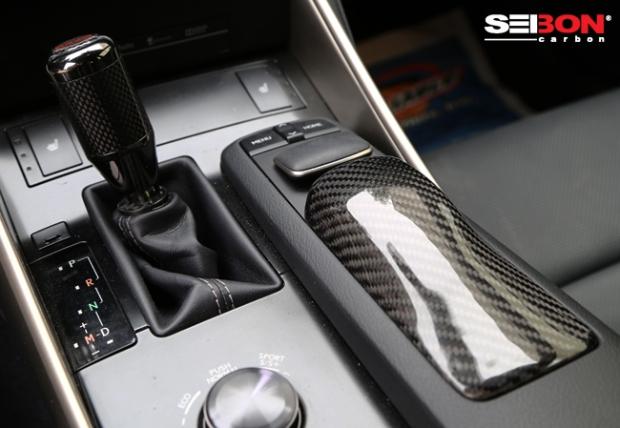 Seibon Carbon Lexus IS350 F Sport interior pieces.