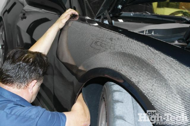 Seibon Carbon fenders. Photo credit: gmhightechperformance.com
