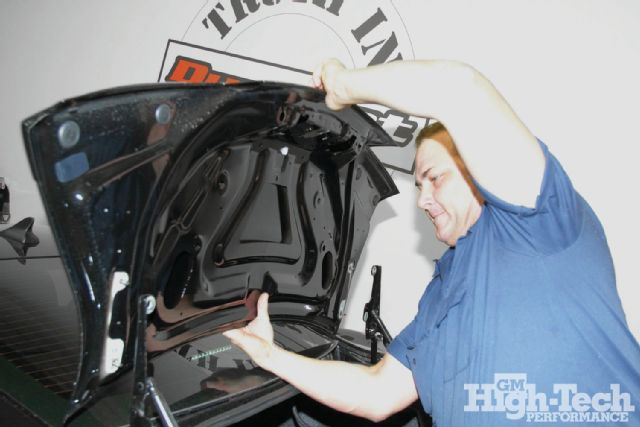 Seibon Carbon ST-style trunk lid. Photo credit: gmhightechperformance.com.