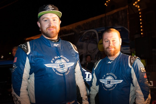Adam Yeoman and Jordan Schulze of FY Racing. Photo credit: FY Racing.