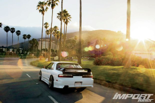 Seibon Carbon hood and trunk. Photo credit: Import Tuner magazine.com.