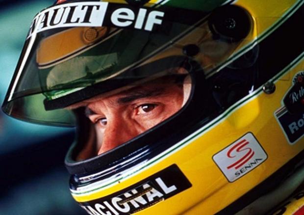 Formula One driver Ayrton Senna da Silva.