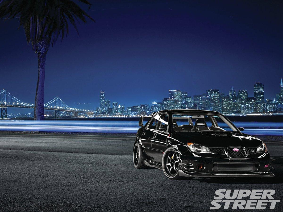 Wrx Performance Parts >> Super Street Feature: 2007 Subaru WRX STi – Baby Got Black ...