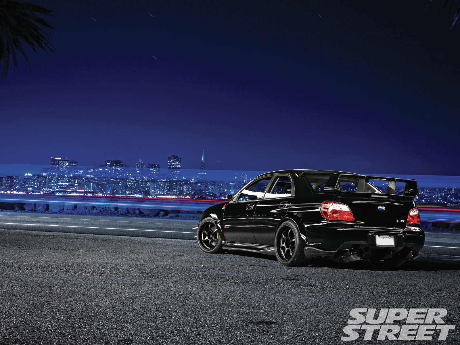 Super Street Feature 2007 Subaru Wrx Sti Baby Got Black