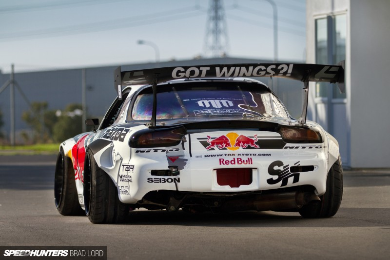 Mad Mike Unveils Madbul Mazda Rx7 At Goodwood Festival Of