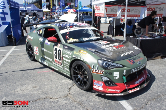 Seibon driver Michele Abbate's FRS at 86 Fest.