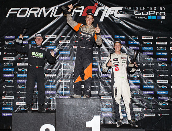 Fredric Aasbo wins Round 6. Photo credit: Formula Drift.com.