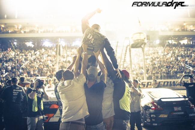 Seibon Carbon driver Chris Forsberg wins second Formula Drift Championship. Photo credit: Formula Drift.com