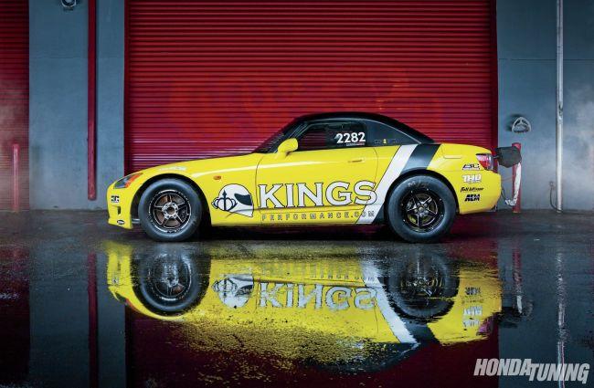 Gabe Ellingsen's S2000 runs a Seibon Carbon hood. Photo credit: Honda Tuning.