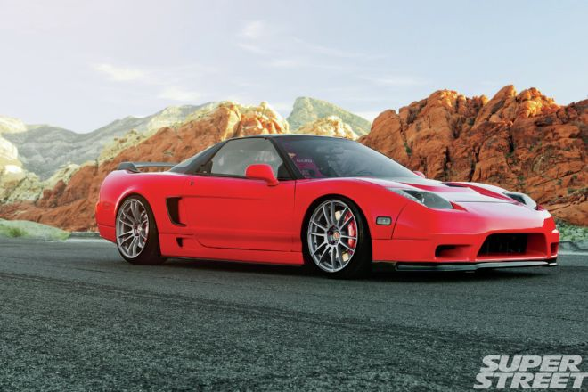 Acura Nsx Downforce Na Front Bumper