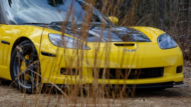 Corvette c6 carbon fiber hood
