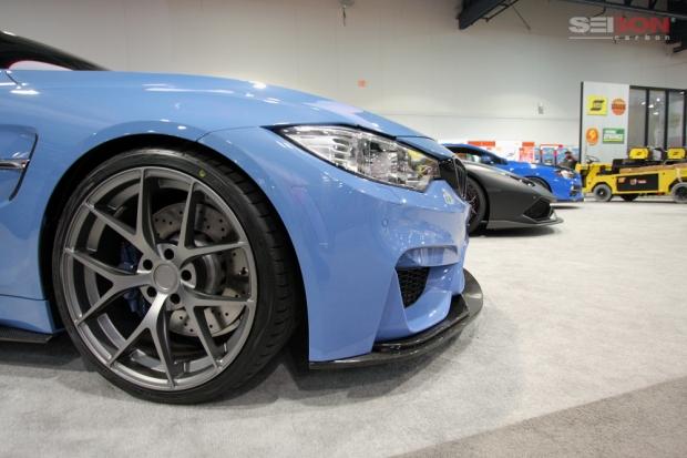 Seibon Carbon SEMA BMW M4 front lip
